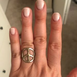 Jewelry - Silver peace ring